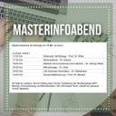 Masterinfoabend Part I