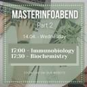 Masterinfoabend Part II 14.04.